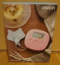 New OMRON HV-F320 Pink Heat & Low-frequency Pulse Massager F/S from JAPAN