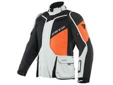 Dainese D Explorer 2 Gore Tex giacca moto touring impermeabile Glacier Gray/Or..