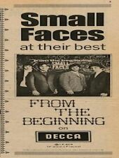 Small Faces From The Beginning UK LP Advert 1967