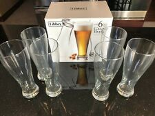 Libbey Giant Beer Pilsner Glasses (6pc/22.5oz) Clear B1439