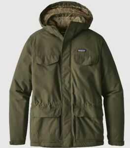 Mens Patagonia Isthmus Parka Size XL Industrial Green BNWT RRP £220