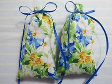 "Spring Flowers 5""X2"" Sachet-'Nighttime Gardenia Scent'-Handmade-Cind y's Loft-272"