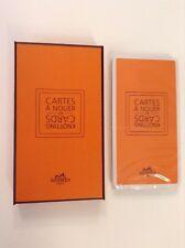 Entièrement neuf dans sa boîte HERMES: HERMES Nouage cartes. cartes a nouer scellé paquet NEUF