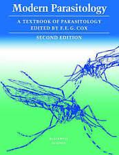 Modern Parasitology 2e, Good Condition Book, E. G. Cox, F., ISBN 9780632025855