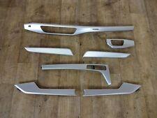Original A5 5F Cabrio Dekor Blenden Interieur Zierleisten aluminium elipse