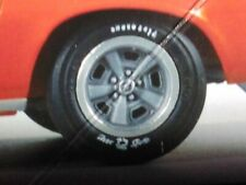 🌟 Wheels & Tires 1970 1/2 Chevy Camaro Z28 1:25 1000s Model Car Parts 4 Sale!