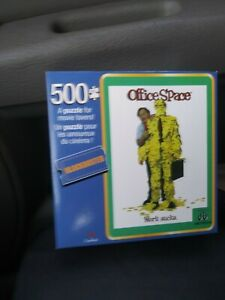 Movie. Famous office space 500 piece. Puzzel. Collector's item