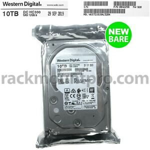 "Western Digital 0B42258 Ultrastar 10TB 3.5"" SAS 7.2K 12Gb/s  Hard Drive NEW PACK"