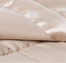 Microfiber Down-Alternative Full/Queen Blanket, Khaki