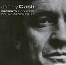 JOHNNY CASH A CONCERT BEHIND PRISON WALLS NEW VINYL RECORD