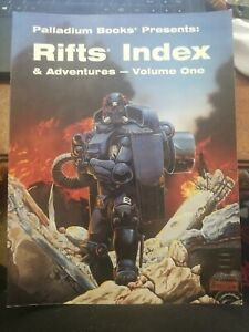 Rifts Index & Adventures Volume One Palladium Books