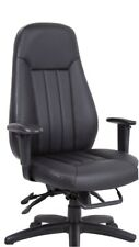 New Zeus High Back Heavy Duty Large 25 Stone Executive Chair Adjustable Arms