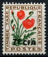 REUNION 1964-71 SG#D426, 7 F SUR 15 C frais de port en raison des fleurs neuf sans charnière #D49648