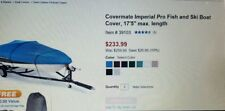 """17.'6"""" Covermate Imperial Pro Fish and Ski ....blue"""