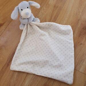 Marks And Spencer Blue Star Dog Comforter Soother Blankie Blanket 01314083