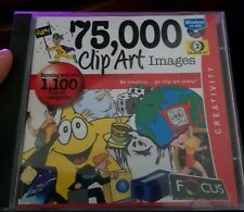 75,000 Clipart Images -  PC GAME - FREE POST *