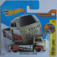 "Hot Wheels - VW T2 Pickup / Pritsche beige ""HW Art Cars"" Neu/OVP"