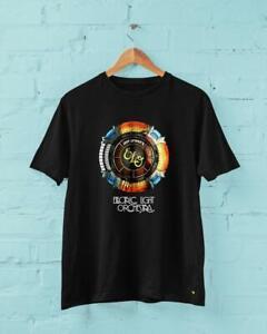 Electric Light Orchestra Elo Rock Band Black Tshirt Funny Vintage Gift For Men