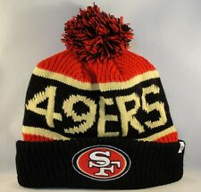 NFL San Francisco 49ers Cuff Knit Pom Hat 47 Brand Calgary