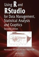 Using R and RStudio for Data Management, Statistical Analysis and Graphics by...