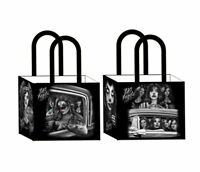 DGA Day of the Dead Art Shopping Tote Bag Reusable Lowrider DGA Angels Clownin
