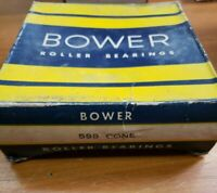 NOS OEM Bower 598 tapered roller bearing cone