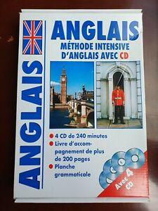 ANGLAIS METHODE INTENSIVE AVEC 4 CD