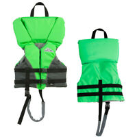Stearns 2000032676 Heads-Upr Child Nylon Vest Life Jacket 30-50Lbs Green