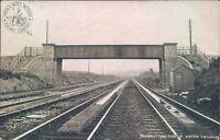 Postcard London & North Western Railway  Ramsbottom Pickup water troughs 1909
