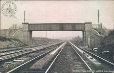 Postcard East Lancashire railway Ramsbottom Pickup water troughs posted 1909