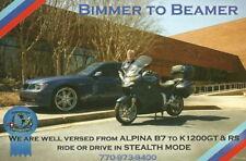 "2010 BMW ""Bimmer To Beamer"" Radar Detector info card"
