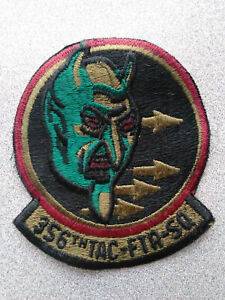 MILITARY PATCH COLLECTABLE - 356th Tactical Fighter Squadron - GOOD CONDITION
