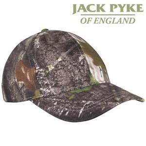 Jack Pyke Stealth Baseball Cap English Oak Evo Camo Hat Shooting Hunting Fishing