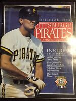 May 8, 1994 Pittsburgh Pirates Scorebook Carlos Garcia Bob Prince Chicago Cubs