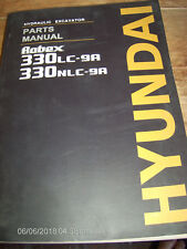 Hyundai ROBEX 330LC-9A, 330NLC-9A HYDRAULIC EXCAVATOR Parts Manual      Lot #259