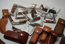 Lot Of  Vintage & New  Folding Pocketknives Pocket Knives Camillus Case