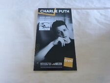 CHARLIE PUTH - Voicenotes !!!!!PLV / DISPLAY 14 X 25 CM