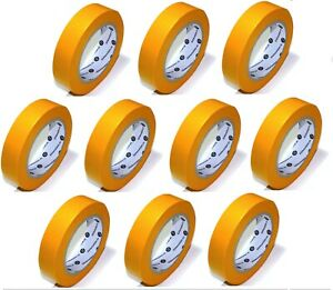 10x Goldband // 30mm x 50m // Abdeckband (soft) Maler Washi Tape