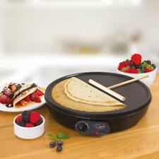 "1000W Electric Pancake Omelettes Flatbread Crepe Maker 12"" Hot Plate Pan Machine"