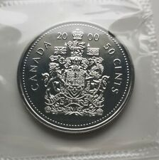 *** CANADA  50  CENTS  2000  ***  PROOF  LIKE  ***  SEALED  COIN  ***