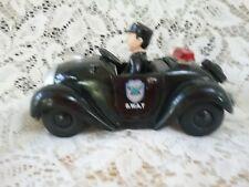 RARE Vintage S.W.A.T. Police Car with Pull Back Action