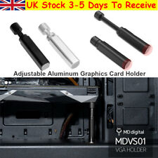 More details for gpu brace support aluminum alloy video card sag holder bracket desktop pc case
