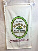 Vintage Rose's Lime Juice Golf Towel Cannon with hanger - RARE