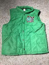 vtg 70s 80s Swingster Usa Vintage Quaker State Puffy Vest Jacket Camp sz Large