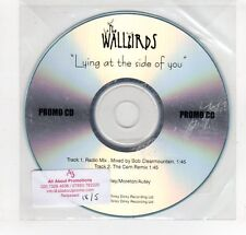 (GO92) The Wallbirds, Lying At The Side Of You - DJ CD