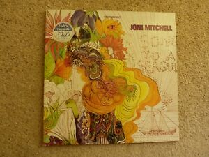 Joni Mitchell Song to a Seagull vinyl LP