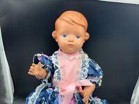 SchildkrötPuppe Zelluloid Puppe 41 cm. Top zustand