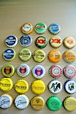 Set Of 28 Diff. Used Latin America Beer Caps:Mexico, Argentina,Chile,Cuba,Hait i