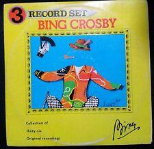 BING CROSBY - OLD MASTERS TRIPLE VINYL LP AUSTRALIA