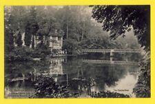 cpa BAR sur AUBE en 1918 La PASSERELLE DOUCHE Menuiserie MONNOT Marchand de Bois